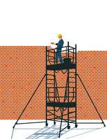 a wall walls concept - vector illustration
