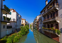 Channel in Padova Italy