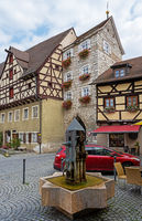 Historic buildings in Berching