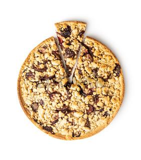Sweet plum pie.
