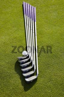 Golfschläger Set mit Ball