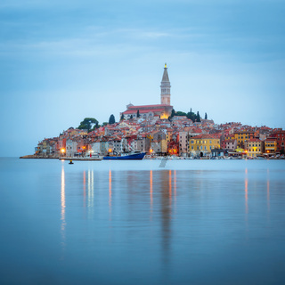 View of Rovinj in Croatia
