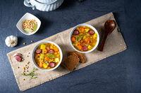Hearty pea soup after grandmas rezept