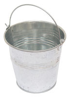 Bucket on white