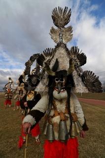 Masquerade festival in Elin Pelin, Bulgaria