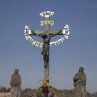 Kruzifix auf der Karlsbrücke, Prag