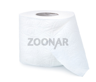Toilet paper isolated
