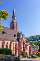 famous church in Calw Germany