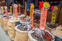 Market in Chinatown, Singapore