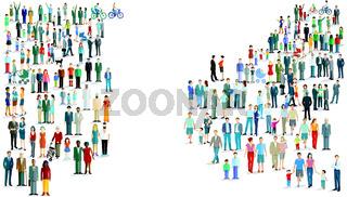 Menschengruppen-.eps