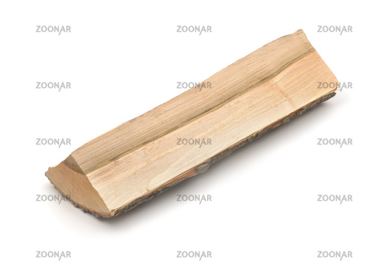 Single piece of firewood