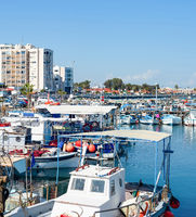Marina apartments waterfront Larnaca Cyprus