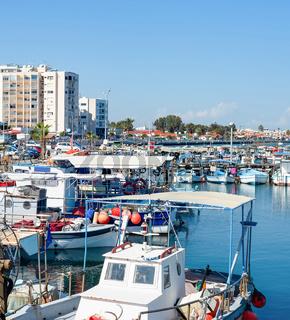 Marina apartments waterfront Larnaca Cyprus