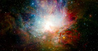 Space art. Elements of this image furnished by NASA