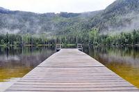 mountain lake in salzkammergut