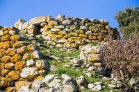 Menhir in Sardinia, Italy