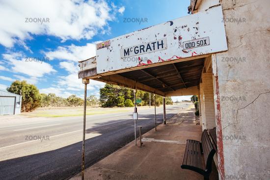 Wickliffe Township in Victoria Australia