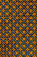 Yellow and Blue floral tiles.  Background Intricate Filigree Seamless Pattern.