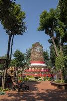 THAILAND LAMPHUN KU CHANG KU MAH CHEDI