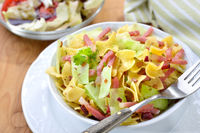 Austrian pasta with white cabbage and bacon