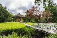 Friendship Temple in Luetetsburg castle garden, East Frisia, Germany