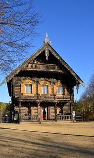 Holzhaus in der Russischen Kolonie, Potsdam, Brandenburg