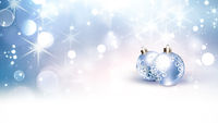 bright festive winter background