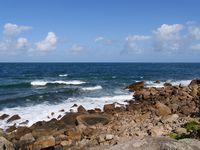 Coast at Cap Lévi
