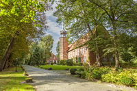 Kniphausen castle in Friesland