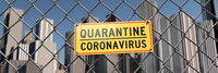 Quarantine in the city due to Coronavirus