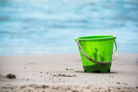 Bucket at the beach