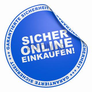 3D Aufkleber Blau - Sicher online einkaufen!