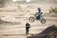 Motocross Competition in the city of Elche, Spain.