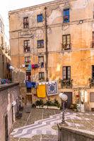 Streetview Cagliari, Sardinia, Italy