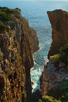 Ocean and cliff, Portugal