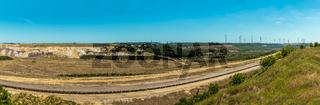 Panorama alter Tagebau
