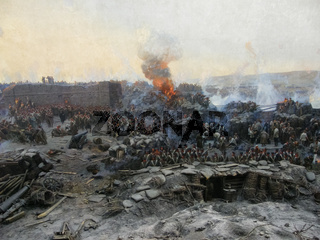 Reconstruction of the events of the defense of Sevastopol in the Crimean War of 1854-55.