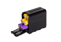 Battery adapter for electronic equipment.
