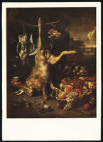 Jan Weenix Still Life with a Dead Hare
