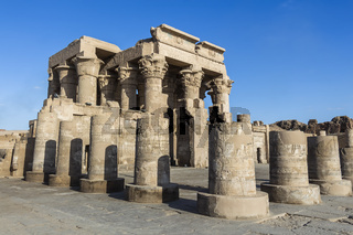 The Temple of Kom Ombo, dedicated to ancient Egyptian gods Sobek and Horus