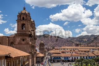 Catholic Church in Cusco, Peru