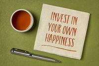 invest in your own happiness