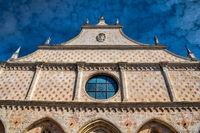 Vicenza, Italy - 03/19/2019 - old cathedral in the old town
