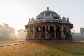 India's sight, Isa Khan's Tomb in Hymayun's Tomb complex in New Delhi