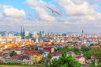 Umraniye district on the Asian shore of Istanbul, Turkey