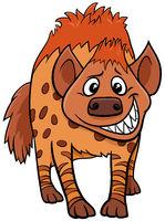 cartoon hyena wild animal character