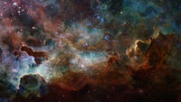 Space scene with stars and galaxies. Elements of this image furnished by NASA