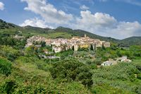 Village of Rio nell`Elba,Island of Elba,Tuscany,mediteranean Sea,Italy