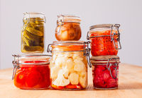 The mouth-watering pickled vegetables for every taste