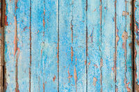 Old blue wooden background, perfect textured pattern.